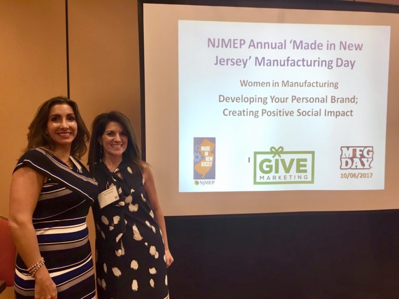 """Kim Keating (2nd from left) Leads Discussion on Women In Manufacturing at NJMEP """"Made In New Jersey"""" Expo and Conference"""