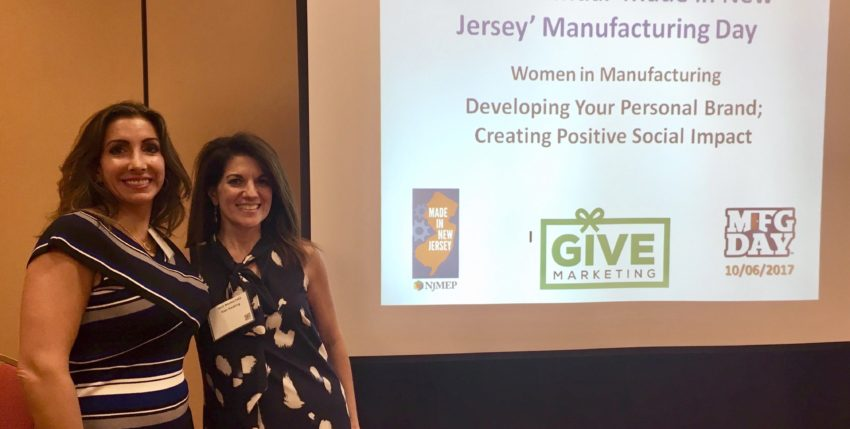 "Kim Keating (2nd from left) Leads Discussion on Women In Manufacturing at NJMEP ""Made In New Jersey"" Expo and Conference"